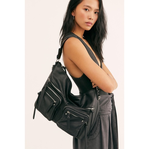 Free People Handbags - Free People vegan leather hobo purse